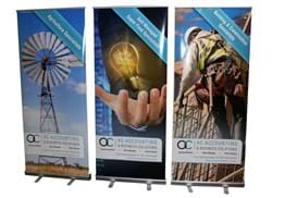 pull up banner, banner printing, business banners