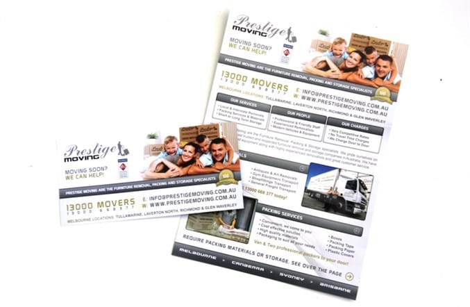 A4 business flyers