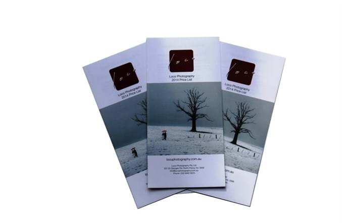 photography business brochures