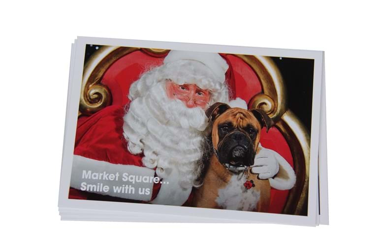 Christmas card printing for business