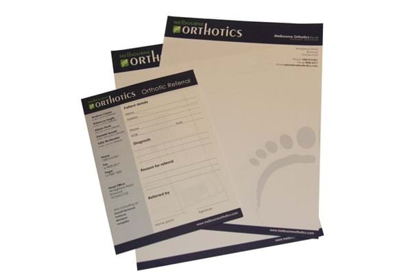 referral pad printing Melbourne