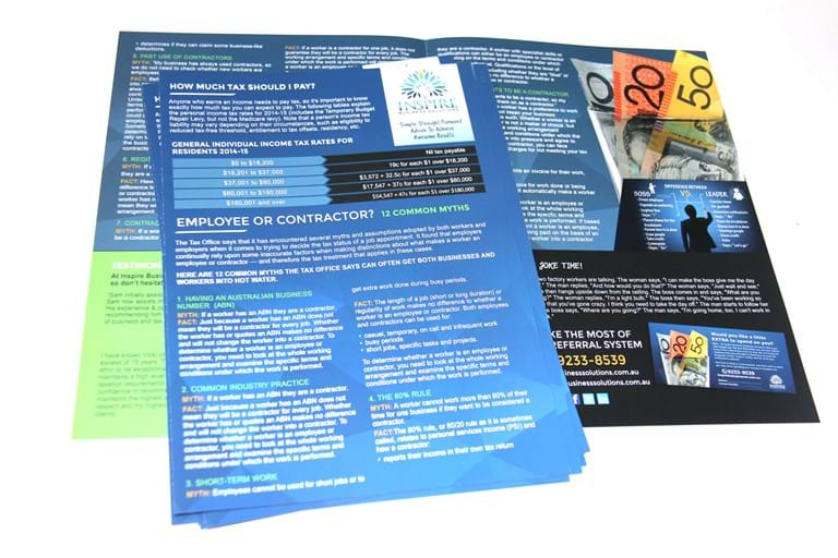printed newsletters by Cariss Printing