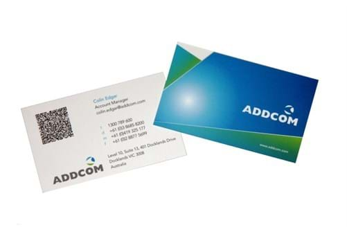 QR code printing Melbourne