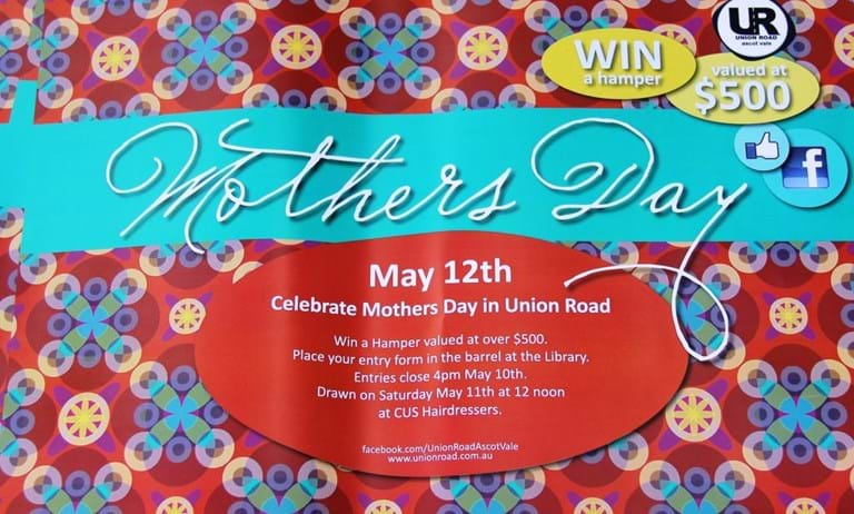 Print marketing mothers day