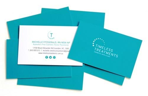 Cariss printing business cards tullamarine corporate stationery medical clinic business cards business cards tullamarine printed business cards reheart Image collections